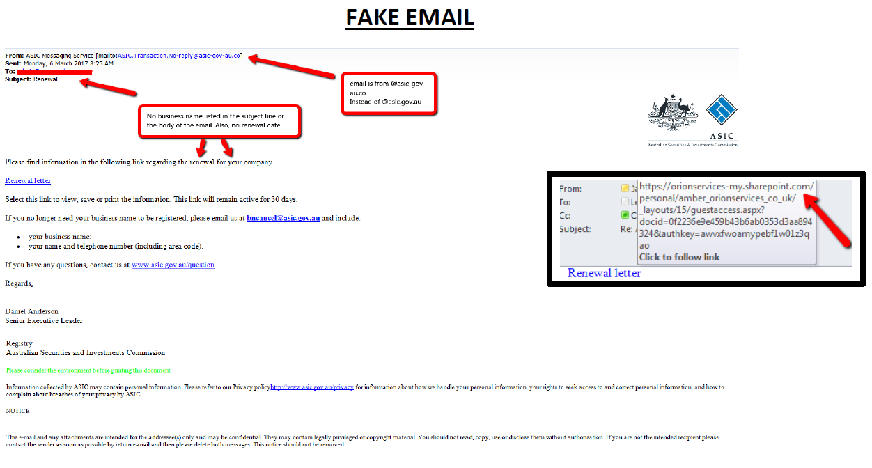Client Alert: Email Scams containing Malware, Virus & Ransomware